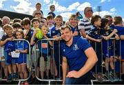 13 May 2018; Jordi Murphy of Leinster during their homecoming at Energia Park in Dublin following their victory in the European Champions Cup Final in Bilbao, Spain. Photo by Ramsey Cardy/Sportsfile