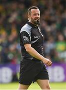 13 May 2018; Referee David Gough during the Ulster GAA Football Senior Championship Preliminary Round match between Donegal and Cavan at Páirc MacCumhaill in Donegal. Photo by Oliver McVeigh/Sportsfile
