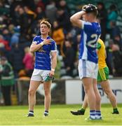 13 May 2018; A dejected Ciaran Brady of Cavan after the Ulster GAA Football Senior Championship Preliminary Round match between Donegal and Cavan at Páirc MacCumhaill in Donegal. Photo by Oliver McVeigh/Sportsfile