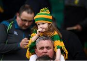 13 May 2018; A young Donegal supporter during the Ulster GAA Football Senior Championship Preliminary Round match between Donegal and Cavan at Páirc MacCumhaill in Donegal. Photo by Philip Fitzpatrick/Sportsfile