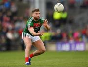 13 May 2018; Aidan O'Shea of Mayo during the Connacht GAA Football Senior Championship Quarter-Final match between Mayo and Galway at Elvery's MacHale Park in Mayo. Photo by Eóin Noonan/Sportsfile