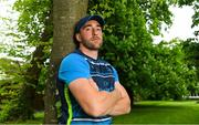 14 May 2018; Jack Conan poses for a portrait after a Leinster Rugby press conference at Leinster Rugby Headquarters in Dublin. Photo by Brendan Moran/Sportsfile