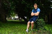 14 May 2018; Garry Ringrose poses for a portrait after a Leinster Rugby press conference at Leinster Rugby Headquarters in Dublin. Photo by Brendan Moran/Sportsfile