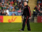 13 May 2018; Mayo manager Stephen Rochford during the Connacht GAA Football Senior Championship Quarter-Final match between Mayo and Galway at Elvery's MacHale Park in Mayo. Photo by Eóin Noonan/Sportsfile