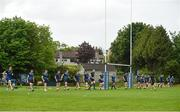 15 May 2018; Leinster players during Leinster Rugby squad training at UCD in Dublin. Photo by Eóin Noonan/Sportsfile