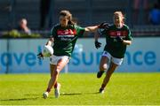 6 May 2018; Niamh Kelly of Mayo during the Lidl Ladies Football National League Division 1 Final match between Dublin and Mayo at Parnell Park in Dublin. Photo by Piaras Ó Mídheach/Sportsfile