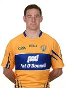 26 May 2017; Cian Dillon of Clare. Clare Hurling Squad Portraits 2017 at the Clare GAA centre of excellence in Caherlohan, Co. Clare. Photo by Diarmuid Greene/Sportsfile