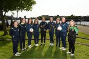 16 May 2018; Limerick County and Limerick Desmond players, from left, Chloe O'Neill, Clare O'Riordain, Anna Shine, Amy Thompson, Yasmin Reeves Wasiki, Nicole McNamara, Maura Shine and Alannah Mitchell and Kelsey Reeves in attendance during the Gaynor Cup Launch at the Lord Mayor's Office, in City Hall, Merchants Quay, Limerick. Photo by Matt Browne/Sportsfile