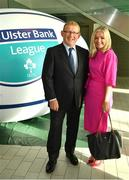 17 May 2018; Norman Ginnelly, Head of Restructuring & Recoveries for Ulster Bank, and Elizabeth Arnett, Head of Corporate Affairs for Ulster Bank, pictured at the Ulster Bank League Awards 2018 at the Aviva Stadium in Dublin. Irish rugby head coach Joe Schmidt was in attendance to present the awards to the best rugby players and coaches across all divisions of the Ulster Bank League.  Photo by Sam Barnes/Sportsfile