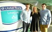 17 May 2018; Will Leonard, Katie McClosky and Tony Cusack of Shannon Rugby Club, Co Limerick, pictured at the Ulster Bank League Awards 2018 at the Aviva Stadium in Dublin. Irish rugby head coach Joe Schmidt was in attendance to present the awards to the best rugby players and coaches across all divisions of the Ulster Bank League.  Photo by Sam Barnes/Sportsfile