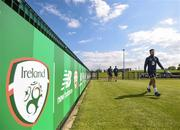 18 May 2018; Greg Cunningham during Republic of Ireland squad training at the FAI National Training Centre in Abbotstown, Dublin. Photo by Stephen McCarthy/Sportsfile