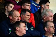 18 May 2018; Republic of Ireland assistant manager Roy Keane in attendance during the SSE Airtricity League Premier Division match between Bohemians and Dundalk at Dalymount Park in Dublin. Photo by Sam Barnes/Sportsfile