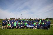 19 May 2018; Special Olympics Team Leinster meet the Republic of Ireland Men's National Team at the FAI National Training Centre in Abbotstown, Dublin. Photo by Stephen McCarthy/Sportsfile