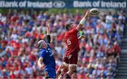 19 May 2018; Peter O'Mahony of Munster wins a lineout from Devin Toner of Leinster during the Guinness PRO14 semi-final match between Leinster and Munster at the RDS Arena in Dublin. Photo by Brendan Moran/Sportsfile