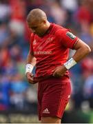 19 May 2018; Simon Zebo of Munster following the Guinness PRO14 semi-final match between Leinster and Munster at the RDS Arena in Dublin. Photo by Stephen McCarthy/Sportsfile