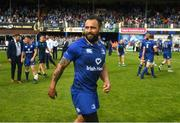 19 May 2018; Isa Nacewa of Leinster following the Guinness PRO14 semi-final match between Leinster and Munster at the RDS Arena in Dublin. Photo by Ramsey Cardy/Sportsfile