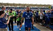 19 May 2018; Isa Nacewa of Leinster following the Guinness PRO14 semi-final match between Leinster and Munster at the RDS Arena in Dublin. Photo by Stephen McCarthy/Sportsfile