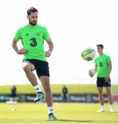 19 May 2018; Greg Cunningham during Republic of Ireland squad training at the FAI National Training Centre in Abbotstown, Dublin. Photo by Stephen McCarthy/Sportsfile