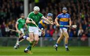20 May 2018; Seamus Hickey of Limerick in action against John McGrath of Tipperary during the Munster GAA Hurling Senior Championship Round 1 match between Limerick and Tipperary at the Gaelic Grounds in Limerick. Photo by Ray McManus/Sportsfile