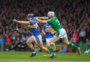 20 May 2018; Jason Forde of Tipperary in action against Seamus Hickey of Limerick during the Munster GAA Hurling Senior Championship Round 1 match between Limerick and Tipperary at the Gaelic Grounds in Limerick. Photo by Ray McManus/Sportsfile