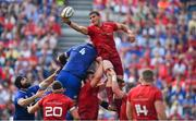 19 May 2018; Gerbrandt Grobler of Munster during the Guinness PRO14 semi-final match between Leinster and Munster at the RDS Arena in Dublin. Photo by Brendan Moran/Sportsfile