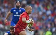 19 May 2018; Simon Zebo of Munster during the Guinness PRO14 semi-final match between Leinster and Munster at the RDS Arena in Dublin. Photo by Brendan Moran/Sportsfile