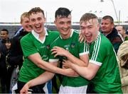 20 May 2018; Kyle Hayes of Limerick is congratulated by supporters after the Munster GAA Hurling Senior Championship Round 1 match between Limerick and Tipperary at the Gaelic Grounds in Limerick. Photo by Ray McManus/Sportsfile
