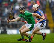 20 May 2018; Barry Murphy of Limerick in action against Sean O'Brien of Tipperary during the Munster GAA Hurling Senior Championship Round 1 match between Limerick and Tipperary at the Gaelic Grounds in Limerick. Photo by Ray McManus/Sportsfile