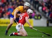 20 May 2018; Patrick Horgan of Cork in action against Niall Deasy of Clare during the Munster GAA Hurling Senior Championship Round 1 match between Cork and Clare at Páirc Uí Chaoimh in Cork. Photo by Brendan Moran/Sportsfile