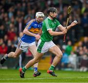 20 May 2018; Barry Murphy of Limerick, races clear of Séamus Kennedy of Tipperary, as he prepares to score a late goal during the Munster GAA Hurling Senior Championship Round 1 match between Limerick and Tipperary at the Gaelic Grounds in Limerick. Photo by Ray McManus/Sportsfile