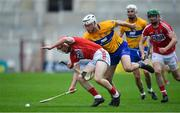 20 May 2018; Daniel Kearney of Cork is tackled by Patrick O'Connor of Clare during the Munster GAA Hurling Senior Championship Round 1 match between Cork and Clare at Páirc Uí Chaoimh in Cork. Photo by Brendan Moran/Sportsfile