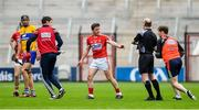 20 May 2018; Daniel Kearney of Cork leaves the pitch to receive medical attention during the Munster GAA Hurling Senior Championship Round 1 match between Cork and Clare at Páirc Uí Chaoimh in Cork. Photo by Brendan Moran/Sportsfile