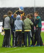 20 May 2018; TJ Reid of Kilkenny signs autographs for supporters after the Leinster GAA Hurling Senior Championship Round 2 match between Kilkenny and Offaly at Nowlan Park in Kilkenny. Photo by Piaras Ó Mídheach/Sportsfile