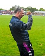 20 May 2018; Wexford manager Davy Fitzgerald celebrates after the Leinster GAA Hurling Senior Championship Round 2 match between Wexford and Dublin at Innovate Wexford Park in Wexford. Photo by Daire Brennan/Sportsfile