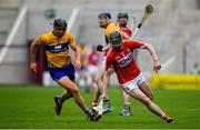20 May 2018; Darragh Fitzgibbon of Cork in action against Cathal Malone of Clare during the Munster GAA Hurling Senior Championship Round 1 match between Cork and Clare at Páirc Uí Chaoimh in Cork. Photo by Brendan Moran/Sportsfile