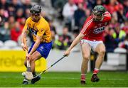 20 May 2018; David Reidy of Clare in action against Mark Coleman of Cork during the Munster GAA Hurling Senior Championship Round 1 match between Cork and Clare at Páirc Uí Chaoimh in Cork. Photo by Brendan Moran/Sportsfile