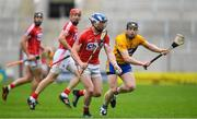 20 May 2018; Sean O'Donoghue of Cork in action against Tony Kelly of Clare during the Munster GAA Hurling Senior Championship Round 1 match between Cork and Clare at Páirc Uí Chaoimh in Cork. Photo by Brendan Moran/Sportsfile