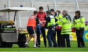20 May 2018; Robbie O'Flynn of Cork is carried from the pitch on a stretcher during the Munster GAA Hurling Senior Championship Round 1 match between Cork and Clare at Páirc Uí Chaoimh in Cork. Photo by Brendan Moran/Sportsfile