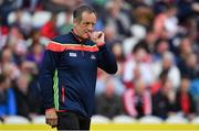 20 May 2018; Cork manager John Meyler prior to the Munster GAA Hurling Senior Championship Round 1 match between Cork and Clare at Páirc Uí Chaoimh in Cork. Photo by Brendan Moran/Sportsfile