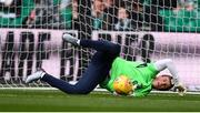 20 May 2018; Conor O'Malley of Republic of Ireland XI warms up prior to Scott Brown's testimonial match between Celtic and Republic of Ireland XI at Celtic Park in Glasgow, Scotland. Photo by Stephen McCarthy/Sportsfile