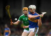 20 May 2018; Ronan Maher of Tipperary in action against Seamus Flanagan of Limerick during the Munster GAA Hurling Senior Championship Round 1 match between Limerick and Tipperary at the Gaelic Grounds in Limerick. Photo by Ray McManus/Sportsfile
