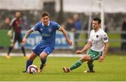 21 May 2018; Daniel Kearns of Limerick in action against Jimmy Keohane of Cork City during the SSE Airtricity League Premier Division match between Limerick FC and Cork City at the Market's Field in Limerick. Photo by Diarmuid Greene/Sportsfile