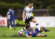 21 May 2018; Dylan Connolly of Dundalk in action against Dylan Barnett of Waterford during the SSE Airtricity League Premier Division match between Dundalk and Waterford at Oriel Park in Dundalk. Photo by Piaras Ó Mídheach/Sportsfile