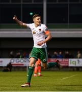 21 May 2018; Garry Buckley of Cork City celebrates after scoring his side's second goal during the SSE Airtricity League Premier Division match between Limerick FC and Cork City at the Market's Field in Limerick. Photo by Diarmuid Greene/Sportsfile