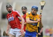 20 May 2018; Shane O'Donnell of Clare during the Munster GAA Hurling Senior Championship Round 1 match between Cork and Clare at Páirc Uí Chaoimh in Cork. Photo by Brendan Moran/Sportsfile