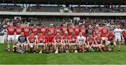 20 May 2018; The Cork squad prior to the Munster GAA Hurling Senior Championship Round 1 match between Cork and Clare at Páirc Uí Chaoimh in Cork. Photo by Brendan Moran/Sportsfile
