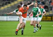 19 May 2018; Charlie Vernon of Armagh during the Ulster GAA Football Senior Championship Quarter-Final match between Fermanagh and Armagh at Brewster Park in Enniskillen, Fermanagh. Photo by Oliver McVeigh/Sportsfile