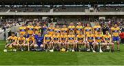 20 May 2018; The Clare squad prior to the Munster GAA Hurling Senior Championship Round 1 match between Cork and Clare at Páirc Uí Chaoimh in Cork. Photo by Brendan Moran/Sportsfile