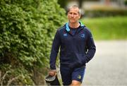 22 May 2018; Leinster senior coach Stuart Lancaster arrives ahead of Leinster Rugby squad training at UCD in Belfield, Dublin. Photo by Sam Barnes/Sportsfile