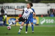 21 May 2018; Chris Shields of Dundalk in action against Bastien Héry of Waterford during the SSE Airtricity League Premier Division match between Dundalk and Waterford at Oriel Park in Dundalk. Photo by Piaras Ó Mídheach/Sportsfile